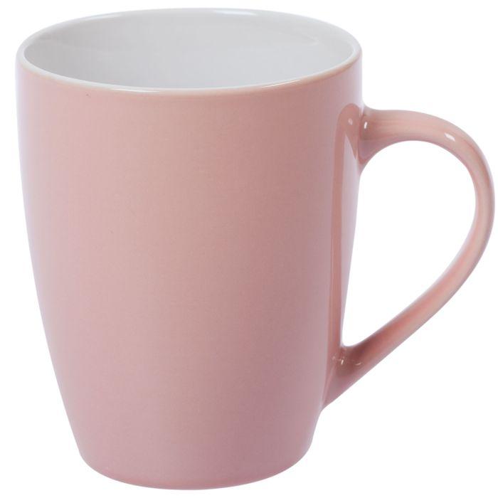 Кружка Good morning, 360 мл, розовая