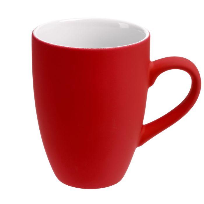 Кружка Best Morning c покрытием SOFT TOUCH, 320 мл, ярко-красная