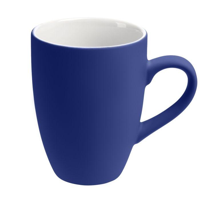 Кружка Best Morning c покрытием SOFT TOUCH, 320 мл, синяя