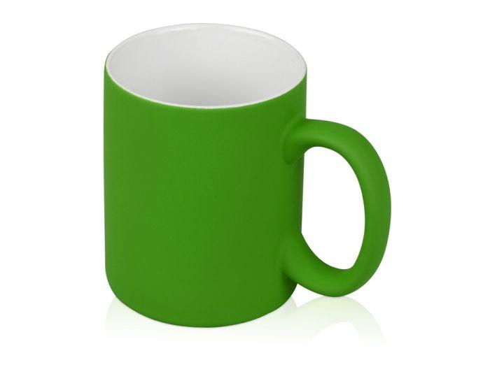 "Кружка ""Barrel of a Gum"", 320 мл, с покрытием SOFT TOUCH, зелёная"