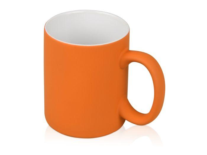 """Кружка """"Barrel of a Gum"""", 320 мл, с покрытием SOFT TOUCH, оранжевая"""