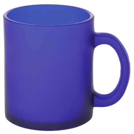 "Кружка стеклянная ""Frost"", 320 мл, синяя"