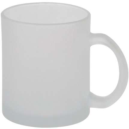 """Кружка стеклянная """"Frost"""", 320 мл, белая"""