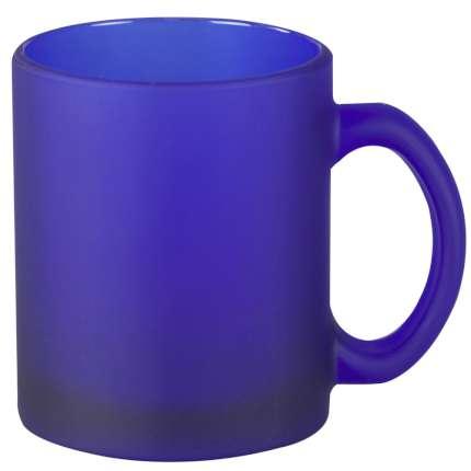 Кружка матовая, 290 мл, синяя