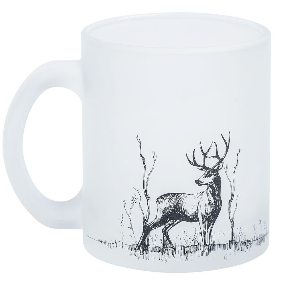 Кружка Forest с изображением оленя, объём 400 мл