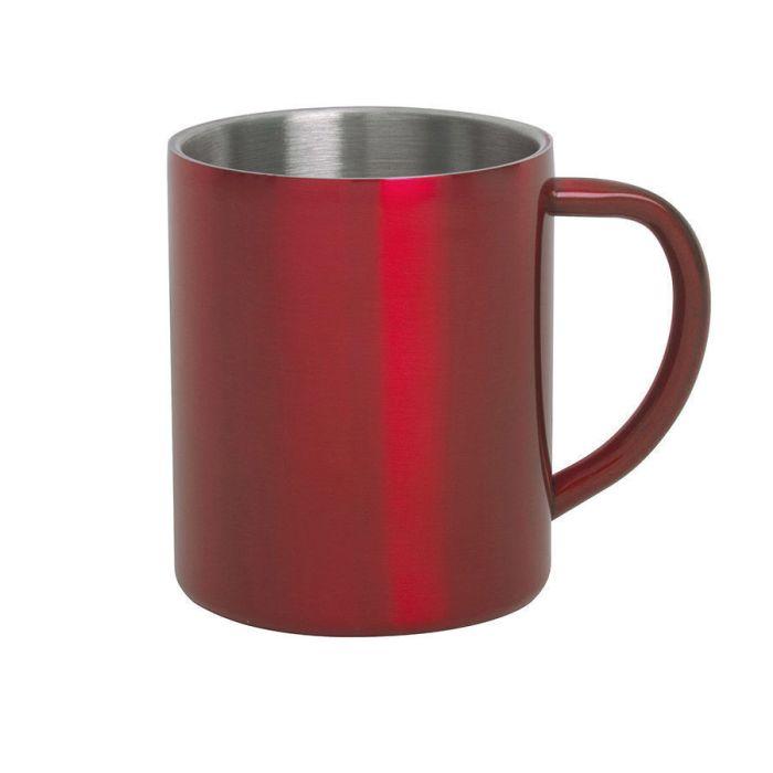 Кружка YOZAX, 300 мл, цвет красный
