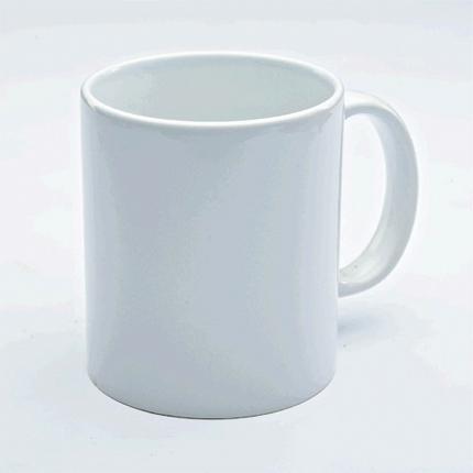 """Кружка керамическая белая для сублимации """"Премиум"""", объём 330 мл"""