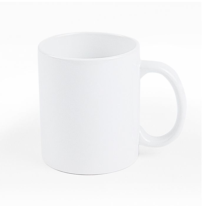 Кружка керамическая для сублимации белая, 300 мл, премиум