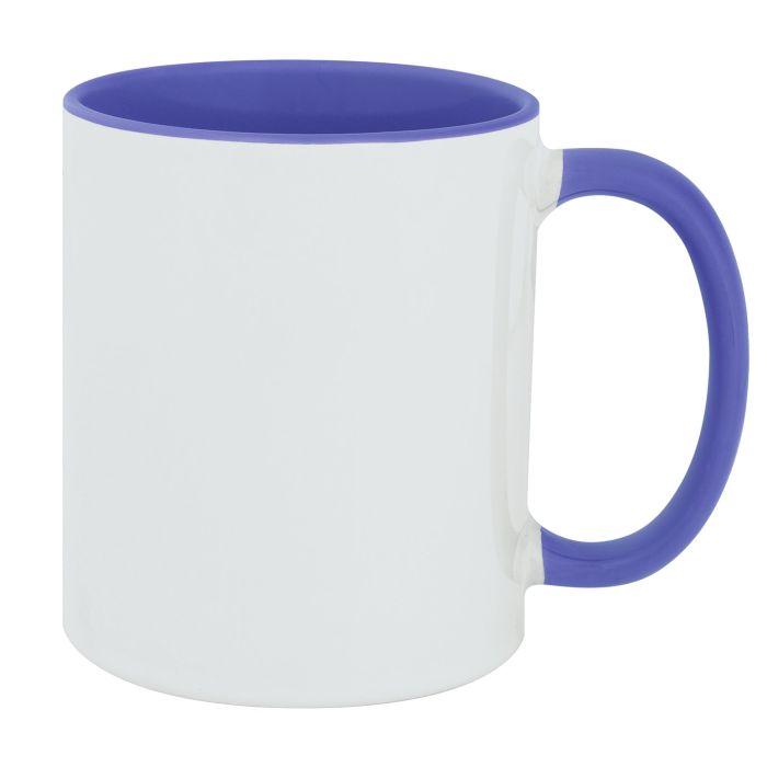 Кружка Promo Plus для сублимационной печати, 330 мл, цвет голубой
