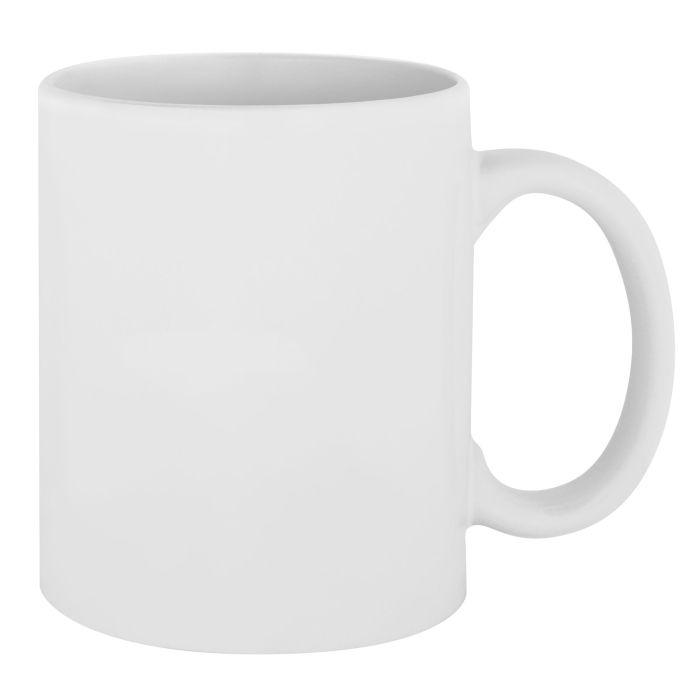 Кружка Promo для сублимационной печати, 330 мл, цвет белый