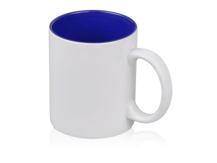"Кружка ""Subcolor W"" для сублимации, объём 320 мл, снаружи белая, внутри синяя"
