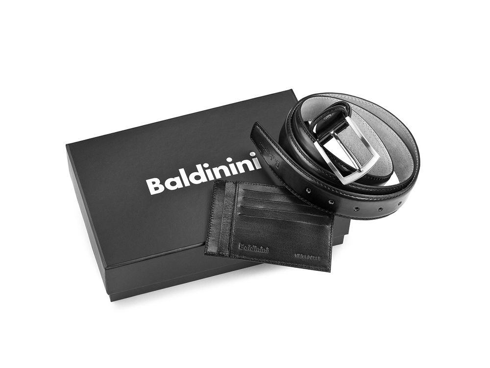 Подарочный набор Baldinini: ремень и футляр для кредитных карт