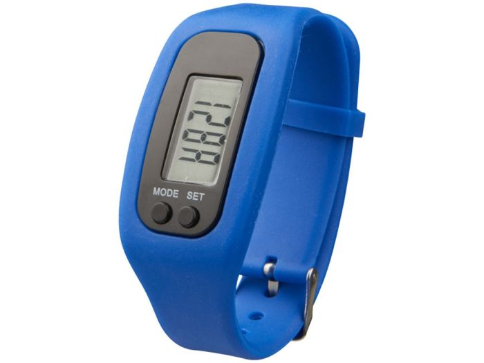 """Смарт часы с шагомером """"Get-Fit"""", цвет синий"""