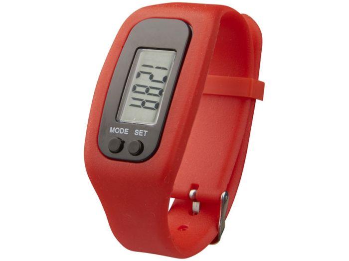 """Смарт часы с шагомером """"Get-Fit"""", цвет красный"""