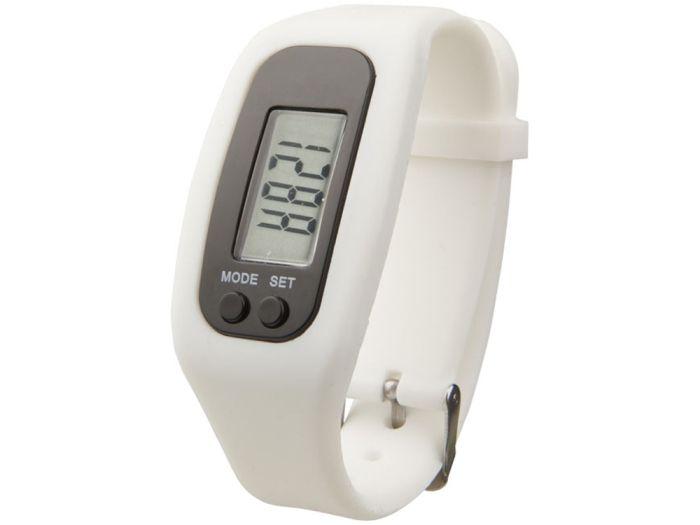 """Смарт часы с шагомером """"Get-Fit"""", цвет белый"""