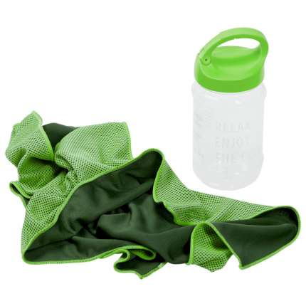 Охлаждающее полотенце Weddell, зелёное