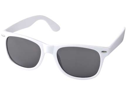 "Очки солнцезащитные ""Sun ray"", цвет оправы белый"