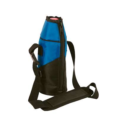 Сумка-холодильник «Coolflask», синяя