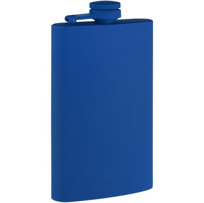 Фляжка Painkiller, 178 мл, с покрытием SOFT TOUCH, синяя