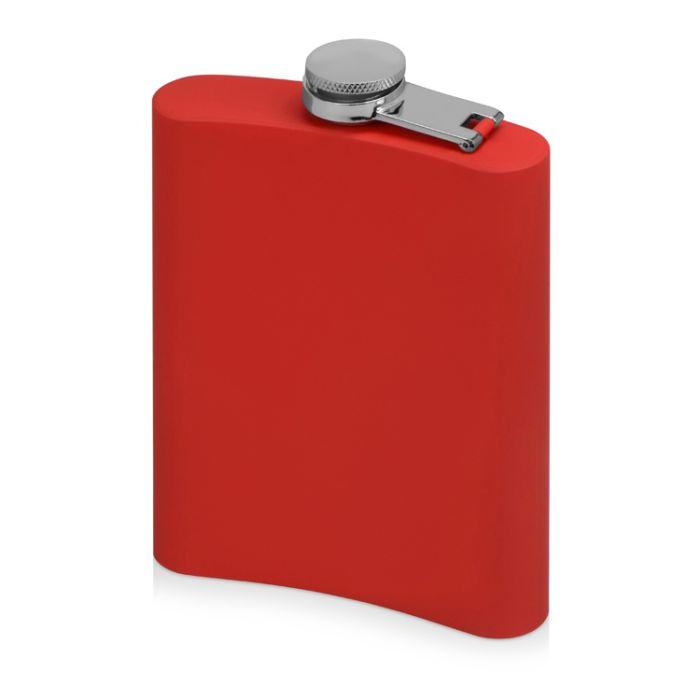"""Фляжка """"Remarque"""" с покрытием SOFT TOUCH, цвет красный"""