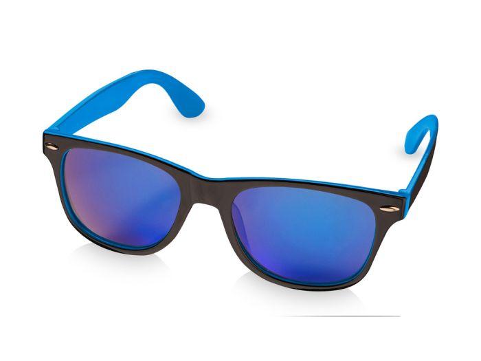 """Очки солнцезащитные """"Baja"""", цвет чёрный с синим"""