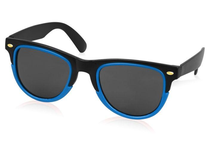 """Очки солнцезащитные """"Rockport"""", цвет чёрный/аква"""