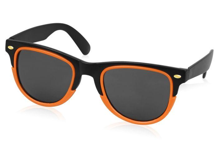 """Очки солнцезащитные """"Rockport"""", цвет чёрный с оранжевым"""