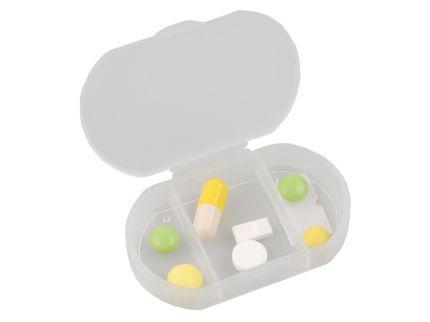 """Футляр для таблеток и витаминов """"Личный фармацевт"""", цвет белый"""