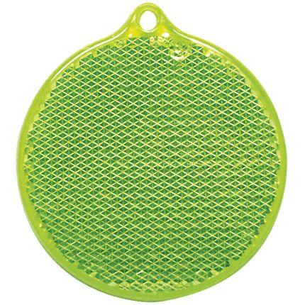 """Пешеходный светоотражатель """"Круг"""", зеленый"""