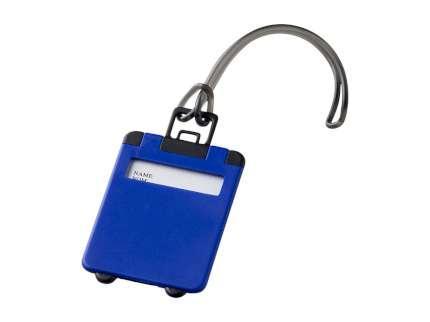 "Бирка для багажа ""Taggy"", синяя"