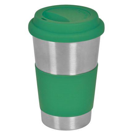 """Термокружка (термостакан) """"Утро"""", 350 мл, цвет зелёный"""