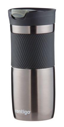 Термостакан (кружка) Byron, 470 мл, вакумный, герметичный, цвет серо-стальной