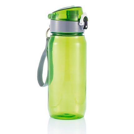 Бутылка для воды Tritan, 600 мл, цвет зелёный