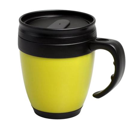 Термокружка Cask, 420 мл, цвет жёлтый
