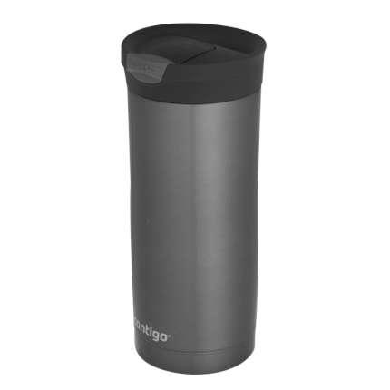Термостакан (кружка) Huron, ёмкость 470 мл, серо-стальной