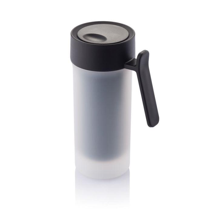 Термокружка Pop, 275 мл, цвет чёрный