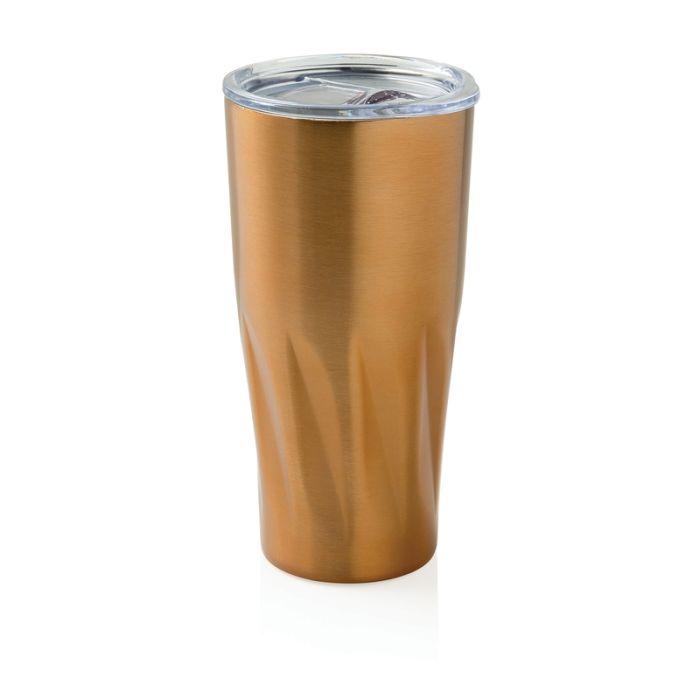 Вакуумная термокружка Copper, 500 мл, цвет жёлтый