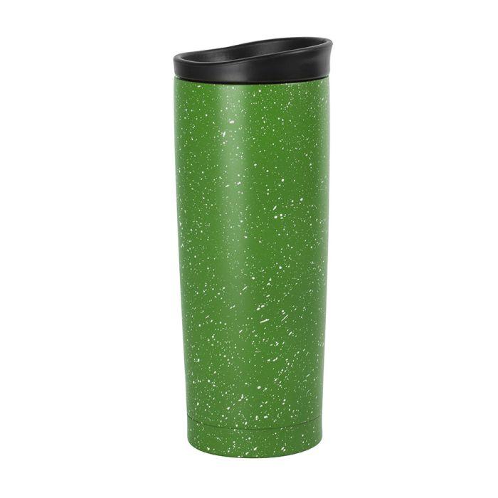 Термокружка вакуумная SPACE, 450 мл, зелёная