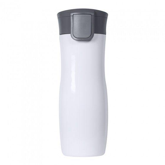 Термокружка вакуумная герметичная Portobello, Lavita, 450 мл, покрытие глянец, белая
