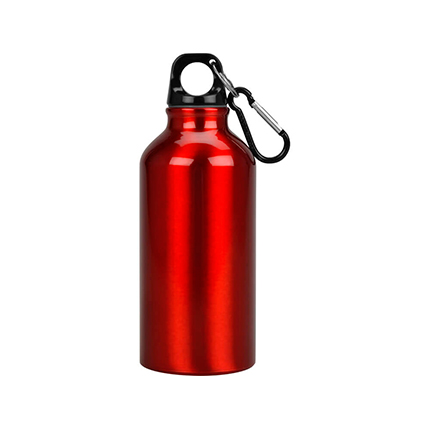 """Бутылка """"Oregon"""" с карабином, объём 350 мл, цвет красный"""