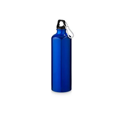 "Бутылка ""Pacific"" с карабином, объём 770 мл, цвет синий"