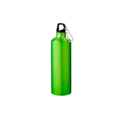 """Бутылка """"Pacific"""" с карабином, объём 770 мл, цвет зелёный"""