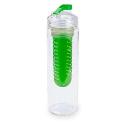 """Бутылка для воды """"Frutti"""", с контейнером для ягод и фруктов, 700 мл, зелёная"""
