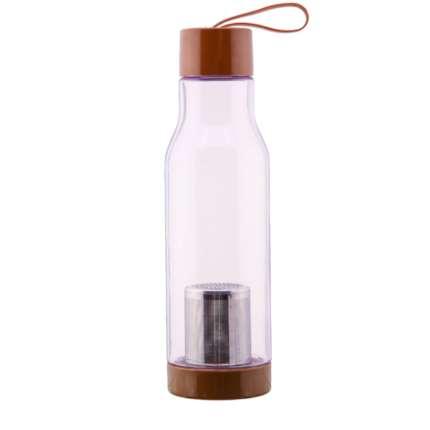 Спортивная бутылка Elite (classic), 600 мл, коричневая