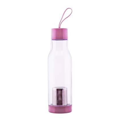 Спортивная бутылка Elite (classic), 600 мл, розовая