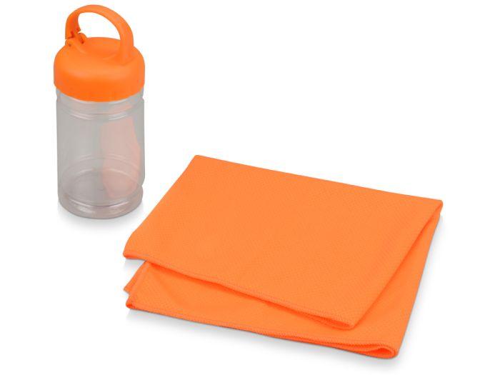 """Набор для фитнеса """"Cross"""", цвет оранжевый"""