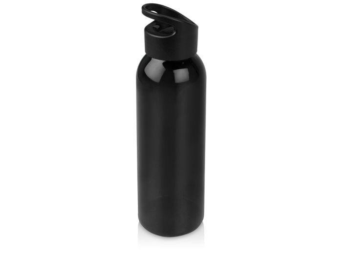 """Бутылка для воды """"Plain"""", 630 мл, цвет чёрный"""
