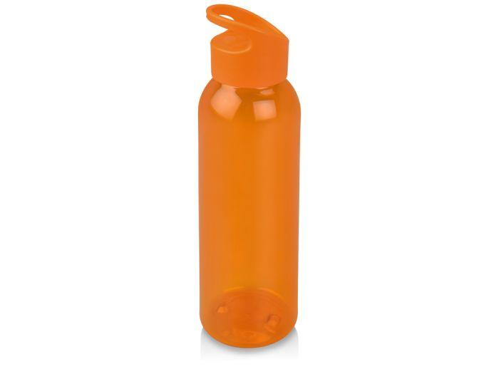 """Бутылка для воды """"Plain"""", 630 мл, цвет оранжевый"""