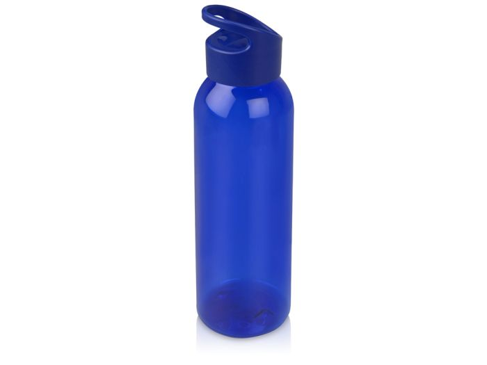 "Бутылка для воды ""Plain"", 630 мл, цвет синий"