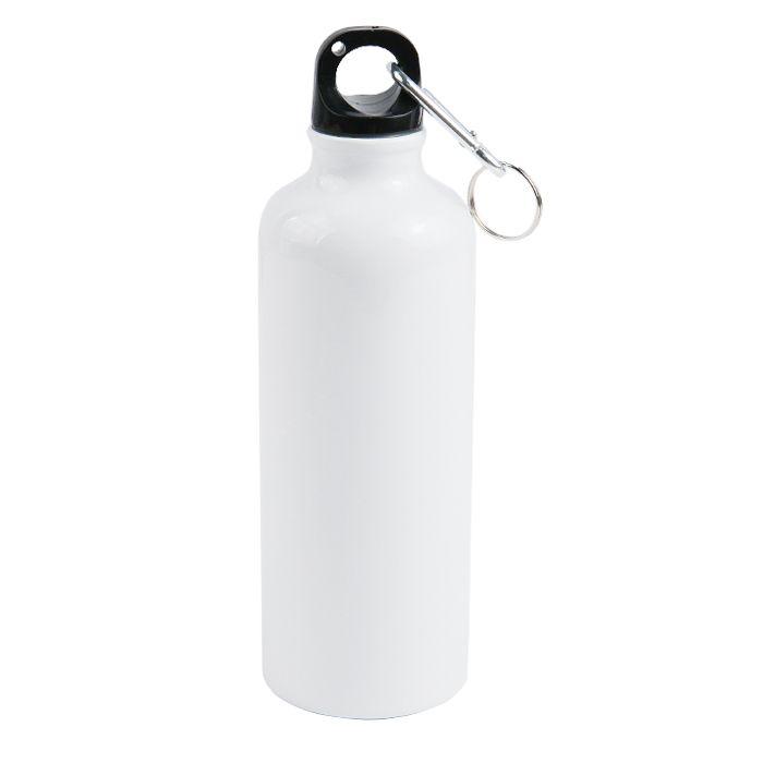 Бутылка для сублимации, металлическая, 500 мл, стандарт, белая